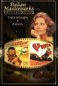 Italian Masterworks - Two Women/Paisan