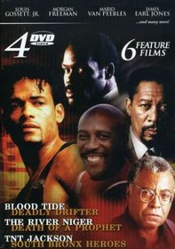 4 DVD Boxed Set (Blood Tide/Deadly Drifter/The river Niger/Death of a Prophet/TNT Jackson/South Bronx Heroes)