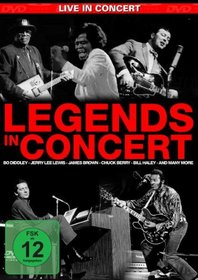 Legends in Concerts: Jerry Lee Levis, James Brown, Bo Diddley, Chuck Berry, Bill Haley, The London Rock n' Roll Show (3 DVD Box Set)