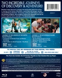 Journey Double Feature (Journey to the Center of the Earth / Journey 2: The Mysterious Island) [Blu-ray]