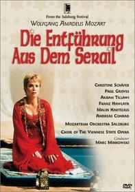 Mozart - Die Entfuhrung aus dem Serail (The Abduction from the Seraglio) / Minkowski, Schafer, Groves, Tillawi, Salzburg Festival