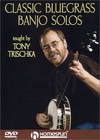 Classic Bluegrass Banjo Solos DVD