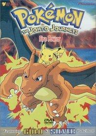 Pokemon - The Johto Journeys - Fire Power (Vol. 44)