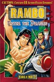 Rambo (Animated Series), Volume 2 - Enter the Dragon