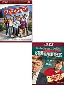 Accepted (Combo HD DVD and Stantard DVD) / School for Scoundrels (HD DVD) (2 Pack)
