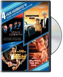 Clint Eastwood Comedy: 4 Film Favorites (Space Cowboys / Honkytonk Man / Every Which Way But Loose / Any Which Way You Can)