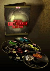 Universal Cult Horror Collection - House of Horrors (1946), Murders in the Zoo (1933), The Mad Doctor of Market Street (1942), The Mad Ghoul (1943), The Strange Case of Doctor RX (1942)