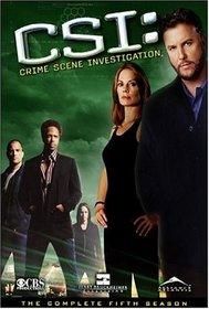 CSI: Crime Scene Investigation: The Complete Fifth Season