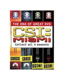 C.S.I. Miami - The Complete Seasons 1-4
