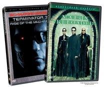 Terminator 3 - Rise of The Machines (Widescreen Edition) / Matrix Reloaded (Widescreen Edition)