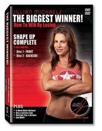 The Biggest Winner - How to Win by Losing - Shape Up Complete (2-Disc DVD Set - Front & Backside)
