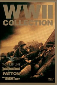 WWII Collection (The Thin Red Line / Patton / The Longest Day / Tora! Tora! Tora!)