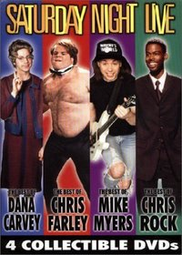 Saturday Night Live 4-Pack (The Best of Dana Carvey/Mike Myers/Chris Rock/Chris Farley)