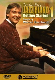 DVD-You Can Play Jazz Piano #1-Getting Started