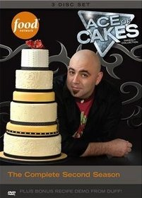 Food Network Ace of Cakes: The Complete Second Season DVD