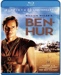Ben-Hur (50th Anniversary Blu-ray Standard Edition) [Blu-ray]