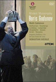Mussorgsky - Boris Godunov / Matti Salminen, Philip Langridge, Eric Halfvarson, Par Lindkog, Albert Schagidullin, Anatoli Kotxerga, Brian Asawa, Barcelona Opera