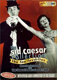 Sid Caesar Collection: Fan Favorites - 3 Volume Gift Boxed Set