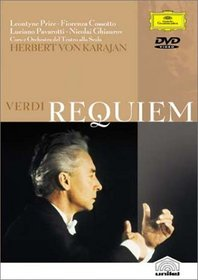 Verdi - Requiem / Henri-Georges Clouzot · Herbert von Karajan - L. Price · Cossotto · Pavarotti
