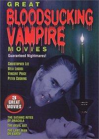 Great Bloodsucking Vampire Movies (The Satanic Rights Of Dracula / The Devil Bat / The Last Man On Earth)