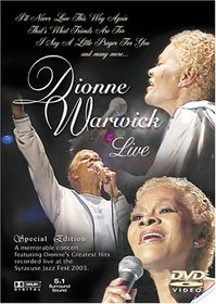 Dionne Warwick Live :Forever Gold (Special Edition)