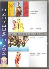 Movie Weekend: Napoleon Dynamite / Office Space / Super Troopers / There's Something About Mary