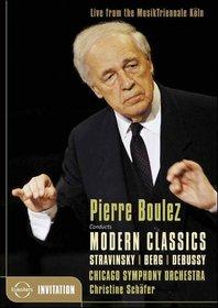 Modern Classics: Stravinsky, Berg, Debussy