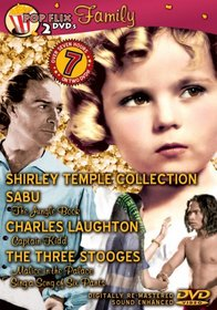 PopFlix - Family (A Little Princess [1939] / The Jungle Book [1942] / Captain Kidd / Malice in the Palace / Sing A Song of Six Pants / Shirley Temple Shorts)