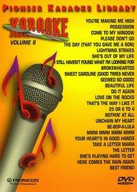 Karaoke / 25 Song Karaoke Library 6