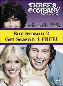 Three's Company: Seasons 1 and 2