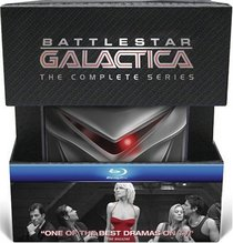 Battlestar Galactica: The Complete Series (with Collectible Cylon) [Blu-ray]
