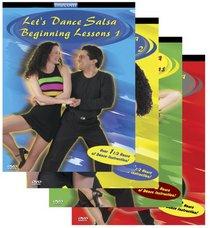 Let's Dance Salsa - Ultimate Collection 4 DVD Set