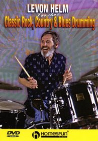 DVD-Levon Helm Teaches Classic Rock,Country & Blues Drumming