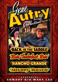 Gene Autry Collection, Cowboy Kid Mary Lee, Vol. 3