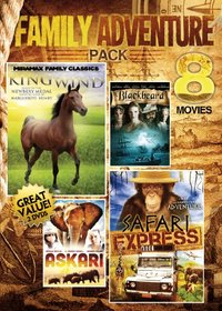 Vol. 5-8-Movie Family Adventure Pack