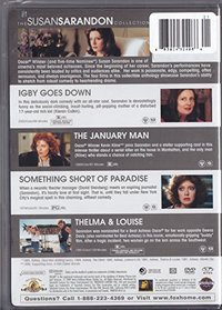 The Susan Sarandon Collection (Igby Goes Down / January Man / Something Short of Paradise / Thelma And Louise)