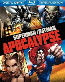 Superman/Batman: Apocalypse (Deluxe Blu-ray Edition with Bonus Episodes) [Blu-ray + DVD + Digital Copy]