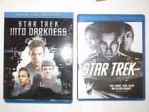 Star Trek Into Darkness Blu-Ray/Dvd/Digital Copy Combo Pack and Star Trek Blu-Ray Exclusive 2 Movie Pack