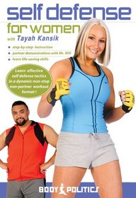 Self Defense for Women with Tayah Kansik - technique and workout