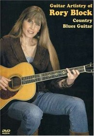 Guitar Artistry of Rory Block Country Blues Guitar