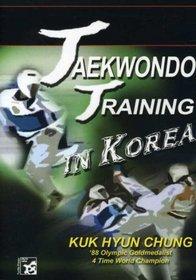 Taekwondo Training in Korea