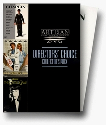 Directors' Choice Collectors Pack (Chaplin / Critical Care / The Crying Game)