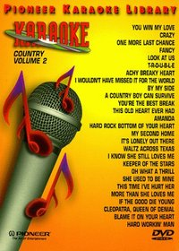 Karaoke / 25 Song Karaoke Library Country 202