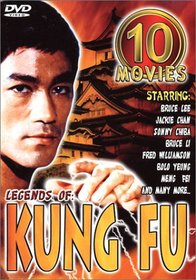 Legends of Kung Fu 10 Movie Pack
