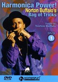 DVD-Harmonica Power! Norton Buffalo's Bag of Tricks