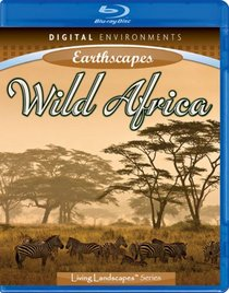 Living Landscapes: Earthscapes - Wild Africa [Blu-ray]