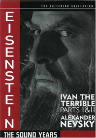 Eisenstein - The Sound Years (Ivan the Terrible Parts 1 & 2, Alexander Nevsky) - Criterion Collection