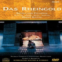 Wagner - Das Rheingold / Boulez, McIntyre, Zednik, Becht, Schwarz, Bayreuth Festival (Ring Cycle Part 1)