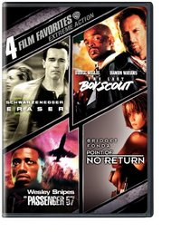 Extreme Action 4 Film Favorites (Eraser / The Last Boy Scout / Passenger 57 / Point of No Return)