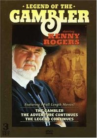 Legend Of The Gambler starring Kenny Rogers, featuring 3 Full-Length Movies!